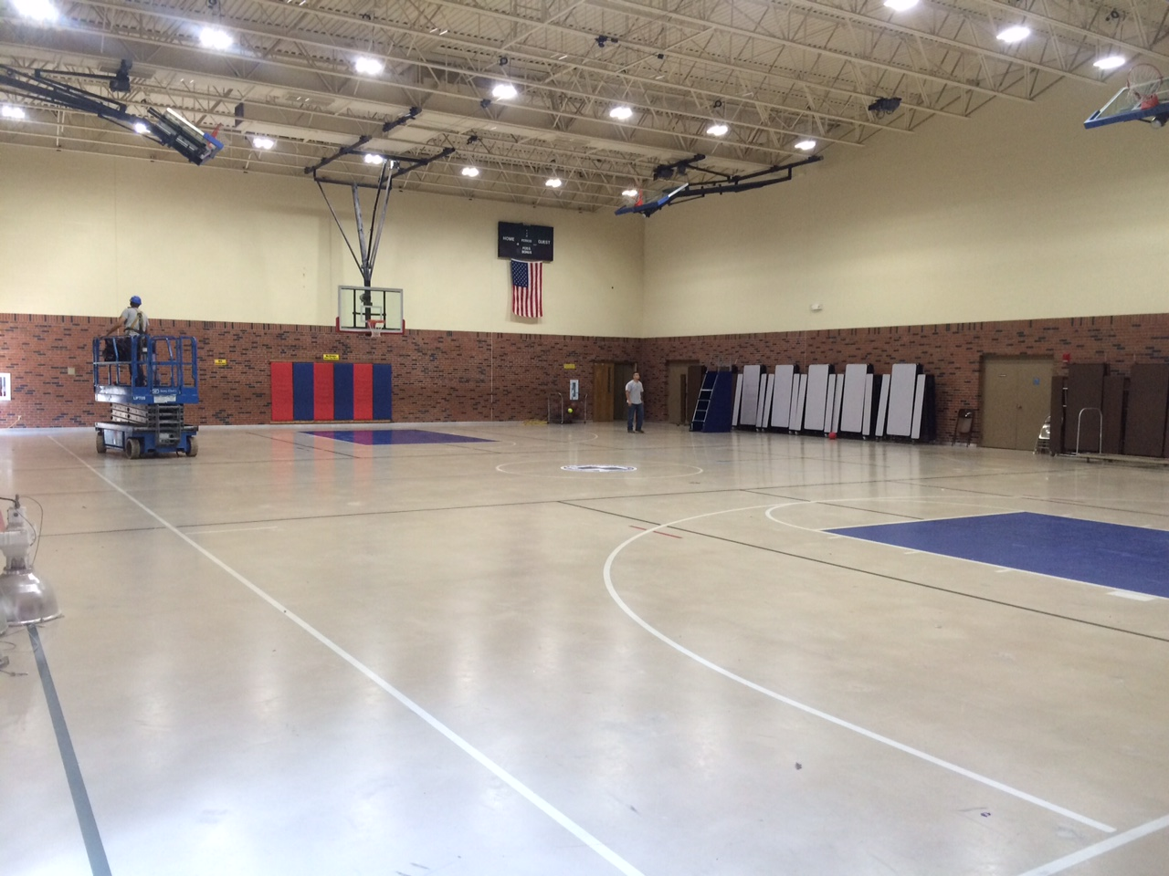 Classical School of Wichita partners with Wichita electrician for upgraded school gymnasium lighting