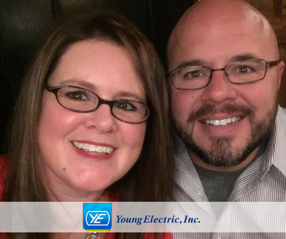 Ellen and Cori Young announce their ownership of Young Electric in Wichita Kansas